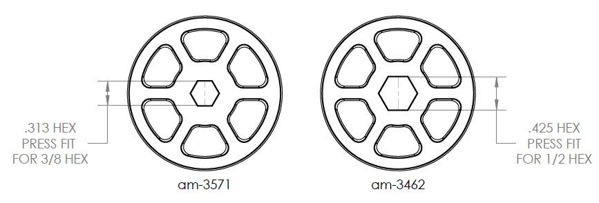 Compliant Wheel Sizing