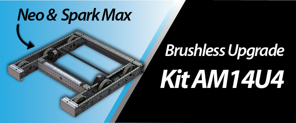 NEO and Spark Max Brushless Upgrade Kit