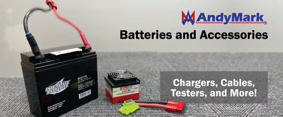 Batteries and Accessories: Chargers, Cables, Testers, and More