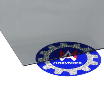 View larger image of 0.060 in. Thick 24 in. x 24 in. Smoked Gray Polycarbonate Sheet