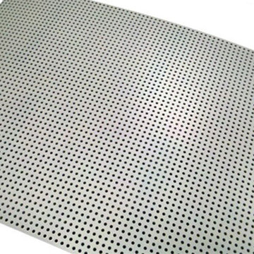View larger image of 0.12 in. Thick 36.75 in. x 26.75 in. Perforated Polycarbonate Sheet