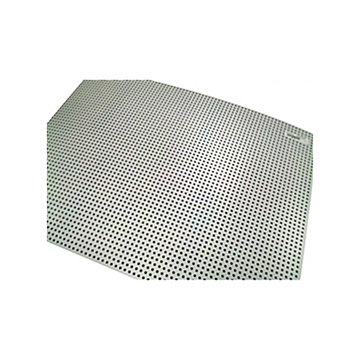 View larger image of 0.125 in. Thick 26.825 in. x 16.825 in. Perforated Polycarbonate Sheet