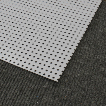 View larger image of 0.125 in. Thick 31.5 in. x 23.5 in. Imperfect Perforated Polycarbonate Sheet