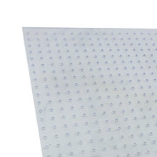 0.125 in. Thick 31.5 in. x 23.5 in. Perforated Polycarbonate Sheet