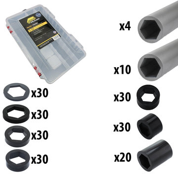 View larger image of 1/2 in. Hex Spacer Kit