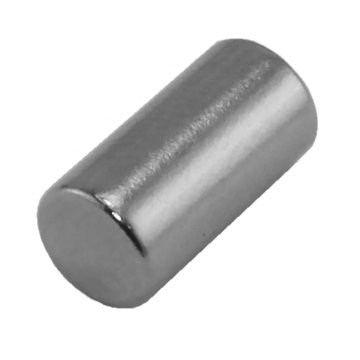 View larger image of 1/4 in. x 1/2 in. Cylinder Magnet