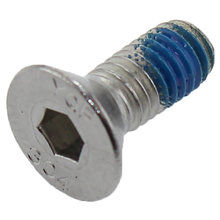 10-32 x 0.50 in. Hex Drive Flat Socket Cap Screw with Nylon Patch
