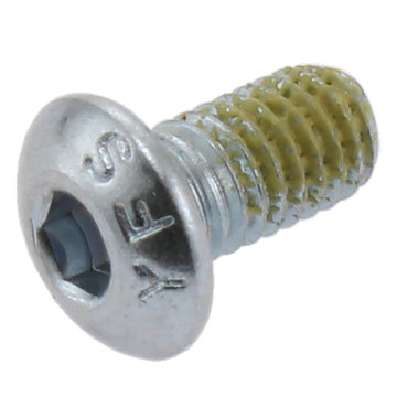 View larger image of 10-32 x 3/8 in. Button Head Cap Screw with Nylon Patch
