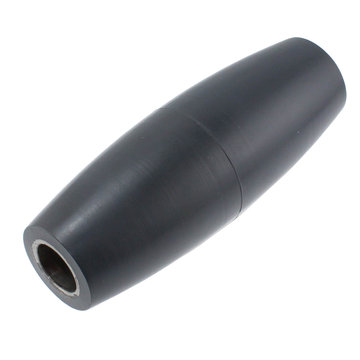 View larger image of 10 in. Mecanum SBR Single Wheel Roller Without Bushings