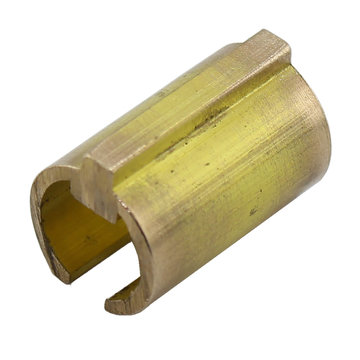 View larger image of 10 mm Round 4 mm Key to 1/2 in. Round with 1/8 in. Key Shaft Adapter