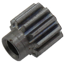 11 Tooth 0.6 Module 0.125 in. Round Bore Steel Pinion Gear
