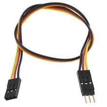 12 in. Long Female to Female PWM Cable with Male to Male Gender Changer