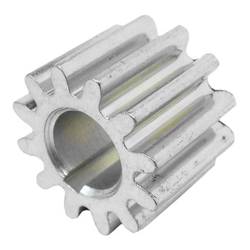 View larger image of 12 Tooth 20 DP 8 mm Round Bore Steel Pinion Gear
