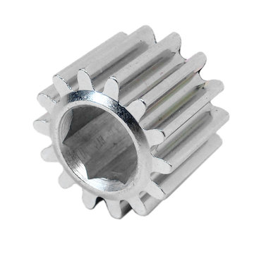 View larger image of 14 Tooth 20 DP 0.375 in. Hex Bore Steel Gear
