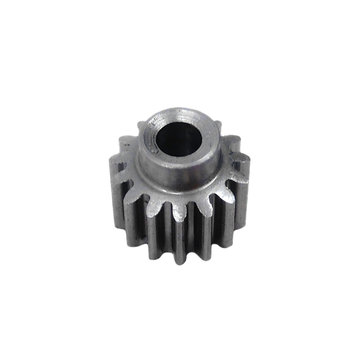 View larger image of 15 Tooth 0.6 Module 0.125 in. Round Bore Steel Pinion Gear