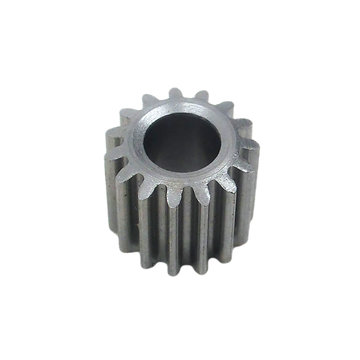 View larger image of 15 Tooth 0.6 Module 5 mm Round Bore Steel Pinion Gear for P60 Gearbox