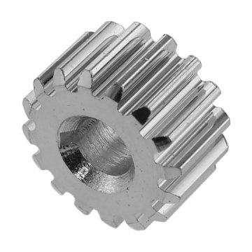 View larger image of 16 Tooth 20 DP 8 mm Round Bore Steel Pinion Gear