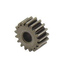 17 Tooth 0.48 Module 0.125 in. Round Bore Steel Pinion Gear for NeveRest Classic