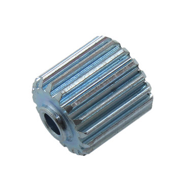 View larger image of 17 Tooth 0.6 Module 0.125 in. Round Bore Steel Pinion Gear