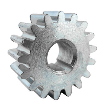 View larger image of 17 Tooth 20 DP 8 mm Round Bore Steel Pinion Gear
