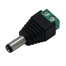 2.1 x 5.5mm DC Power Male Jack Connector with Screw Terminals