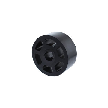 View larger image of 2.25 in. HD Compliant Wheel, 1/2 in. Hex Bore, 60A Durometer