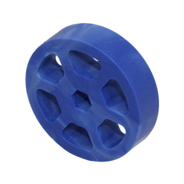 View larger image of 2 in. Compliant Wheel, 3/8 in. Hex Bore, 50A Durometer