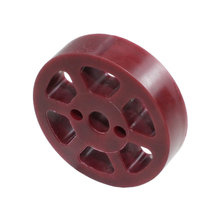 2 in. Compliant Wheel, 8 mm, 45 Durometer Maroon