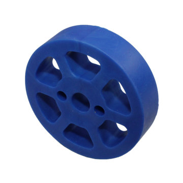 View larger image of 2 in. Compliant Wheel, 8mm, 50 Durometer Blue