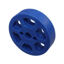2 in. Compliant Wheel 8 mm 50 Durometer Blue