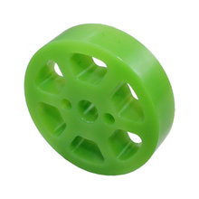 2 in. Compliant Wheel, 8 mm Bore 35 Durometer Green