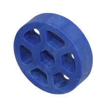 2 in. Compliant Wheel, 1/2 in. Hex Bore, 50A Durometer
