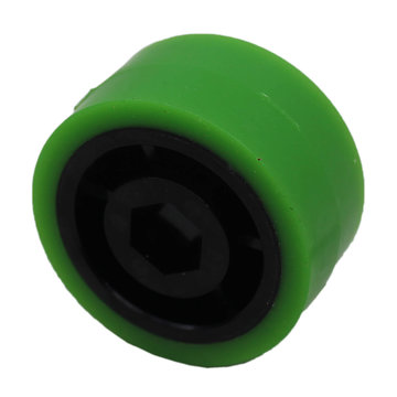 View larger image of 2 in. Stealth Wheel, 1/2 in. Hex Bore, 35A Durometer