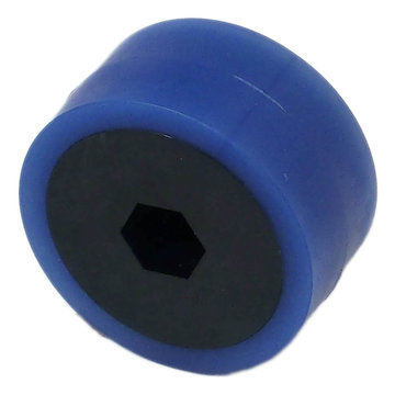 View larger image of 2 in. Stealth Wheel, 1/2 in. Hex Bore, 50A Durometer,