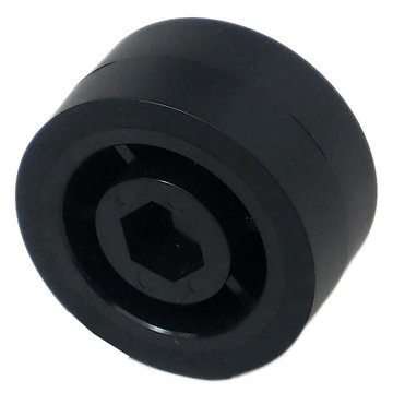 View larger image of 2 in. Stealth Wheel 1/2 in. Hex Bore 60A Durometer