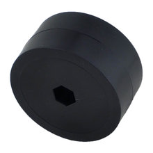 2 in. Stealth Wheel 3/8 in. Hex Bore 60A Durometer