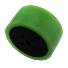 2 in. Stealth Wheel 5 mm Hex Green 35 Durometer