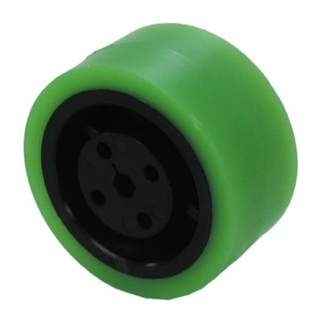 View larger image of 2 in. Stealth Wheel 5 mm Hex, Green, 35 Durometer