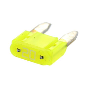 View larger image of 20 Amp MINI Yellow Fuse
