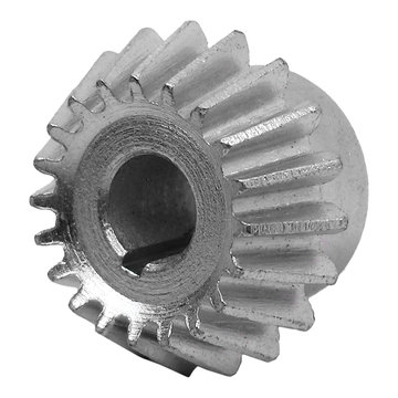 View larger image of 20 Tooth 1.25 Module 8 mm Round Bore Steel Bevel Gear