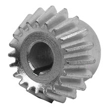 20 Tooth 1.25 Module 8 mm Round Bore Steel Bevel Gear