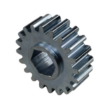 View larger image of 20 Tooth 20 DP 0.375 in. Hex Bore Steel Gear