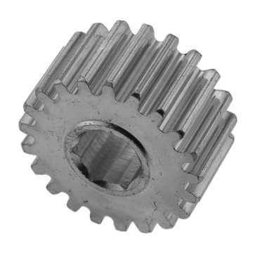 View larger image of 21 Tooth 20 DP 0.375 in. Hex Bore Steel Gear