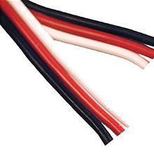22AWG Bonded PWM wire, Black/Red/White, 10ft