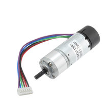 245 RPM 12V Gearmotor with 2 Channel Encoder