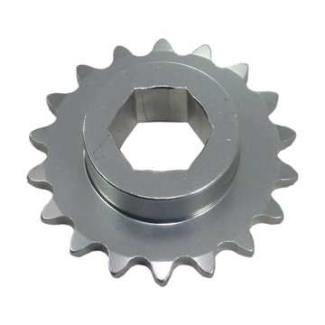 View larger image of #25 18 Tooth 0.5 in. Hex Sprocket