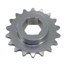 #25 18 Tooth 0.5 in. Hex Sprocket