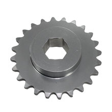 #25 24 Tooth 0.5 in. Hex Sprocket