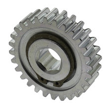 28 Tooth 20 DP 0.375 In. Hex Bore Steel Gear with Flexhub
