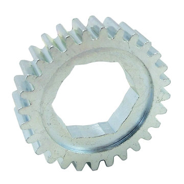 View larger image of 28 Tooth 20 DP 0.75 in. Hex Bore Steel Gear